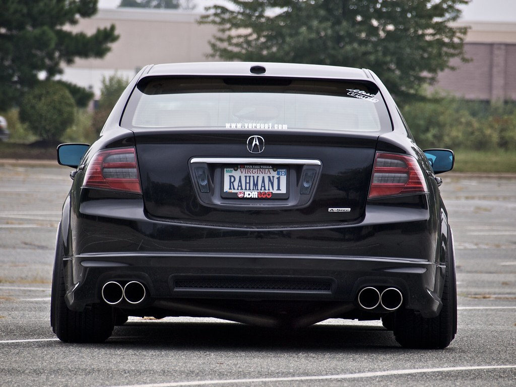 Pics Of Exhaust Tips On Your 3g Tl Acurazine Acura Enthusiast Community