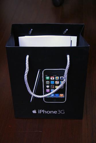 你拍攝的 iPhone 3Gs 16G。