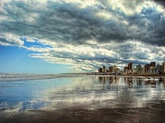 Necochea. (MeluRogi) Tags: city sea sky costa argentina clouds buildings reflections de coast mar edificios foto juan buenos aires pablo ciudad cielo nubes legacy hdr cloudscapes reflejos edicin twop juampi necochea seasunclouds oltusfotos artofimages bestcapturesaoi mygearandmepremium mygearandmebronze mygearandmesilver mygearandmegold mygearandmeplatinum mygearandmediamond