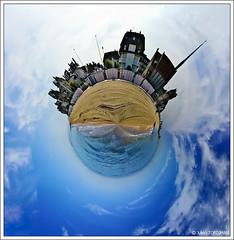 Carte postale de vacances #20 | Holiday postcard #20 (neoweb001 | www.julientordjman.fr) Tags: sea summer vacation sky sun mer house holiday france tree church water lamp rock clouds canon lampe vacances soleil boat sand eau postcard small sable explore ciel planet normandie t nuage bateau maison normandy arbre glise 2009 rocher petite postale lampadaire carte houlgate plante 450d smallplanet anawesomeshot julientordjman postcardholiday