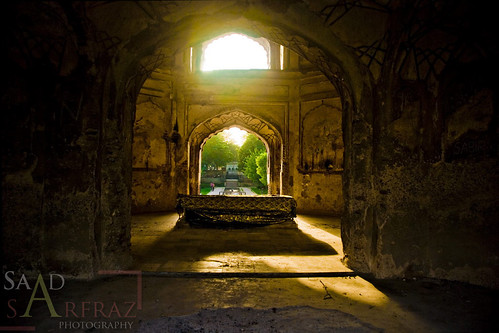 The tomb of Nadira Begum...