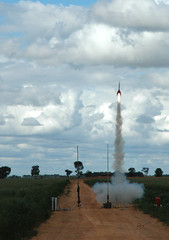 Qantas Rocket - Launch