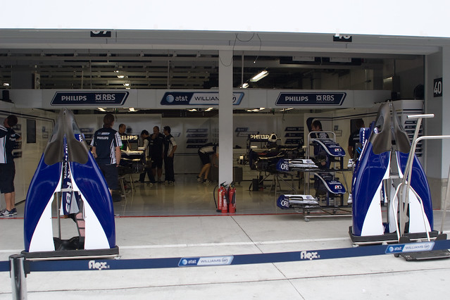 Williams Pit Garage