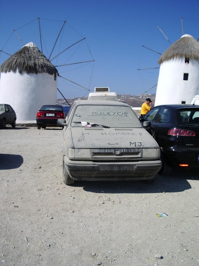 Mucky car