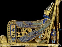 The Golden Throne of King Tutankhamun - Side View (Sandro Vannini) Tags: art photography kingtut cobra tomb egypt ankh tutankhamun aren beliefs egyptians egyptianmuseum cairomuseum goldenthrone kv62 sundisk goldenchair ankhsenamun tutankhaten heritagekey kingtutvirtual sandrovannini ankhsenpaaten keyobject1919