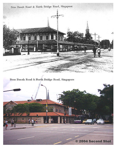 CHIJMES at Bras Basah and North Bridge Road Junction