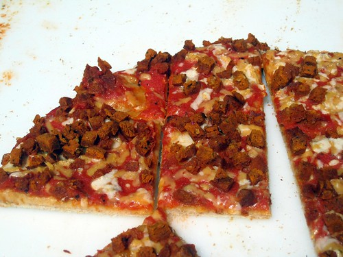 Tofurkey Pizza Samples