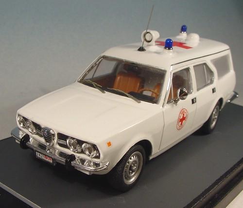 GLP 113 AR Alfetta Ambulanza Carr Grazia 1981 4