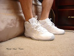 5/2/10 Jordan XI (Never Wear Them) Tags: blue white ice anniversary air bottom 11 jordan sole icey xi