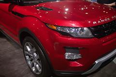 Range Rover Evoque Front Quarter View