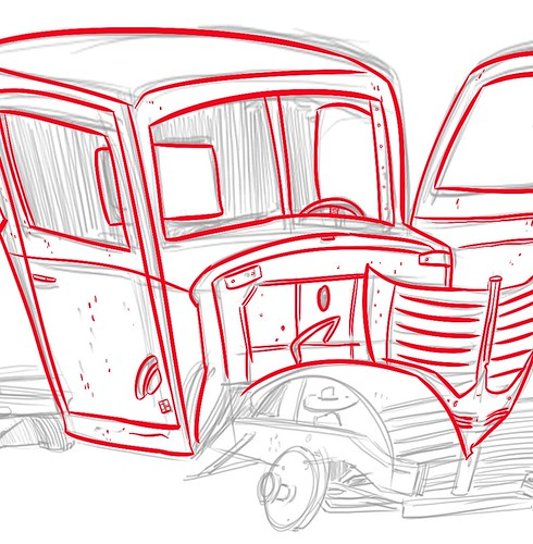 old junker truck process