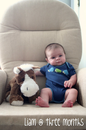 Liam at 3 months