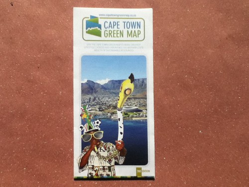 South Africa Stuff: Cape Town Green Map