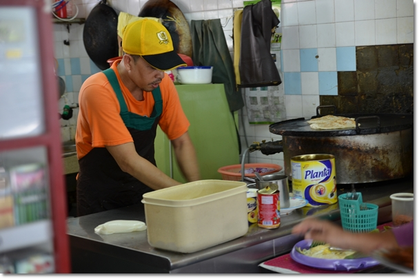 The Man at Work - Fuad Roti Canai