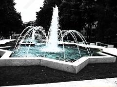 Star-shaped fountain (DjordjeR) Tags: fountain photography belgrade tamajdan palilula ta