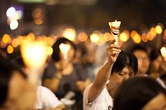 (ricky nyhoff) Tags: china students canon hongkong democracy victoriapark killing innocent beijing government 5d 1989 nikkor 18 humanrights candlelightvigil ais corruption markii june4th 105mm tiananmensquaremassacre