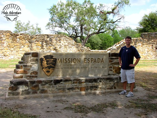 Mission Espada Sign