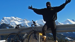 La Cagoule! (will_cyclist) Tags: winter france alps cycling fry croix cagoule