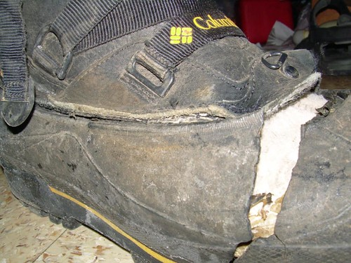 Columbia Sportswear Boots Manufacturing Defect