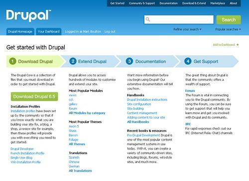 drupal.org redesign r11