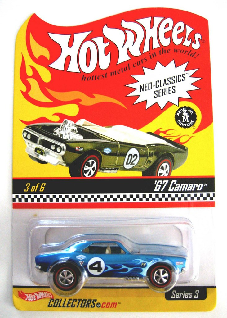 Hot Wheels Neo Classic 67 Camaro