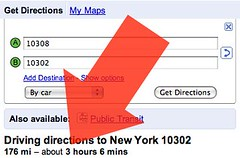 Google Maps Driving Directions Bug