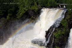 Kakabeka Falls & rainbow (John H Bowman) Tags: ontario canada parks july waterfalls 2008 kakabekafalls riversandstreams otw canon24105l provincialparks ontariowaterfalls kaministiquiariver july2008 kakabekafallsprovincialpark natureselegantshots exphoto