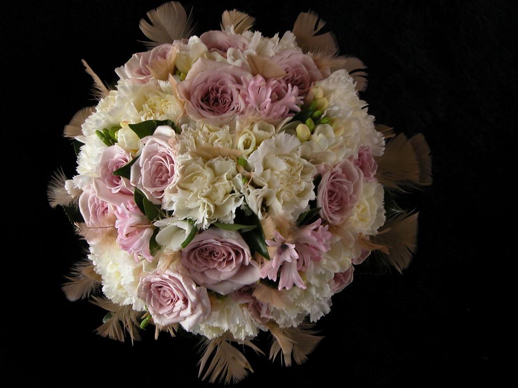 1920s Elegant Wedding Bouquet