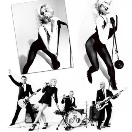Gwen Stefani Goes Minimalist, Mod. And It's Marvelous.