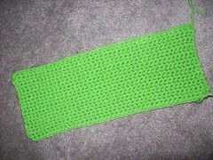 104_0978 (MrsLewis907) Tags: christmas holiday green stockings crochet yarn redheart evann supersaver