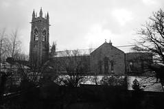 Nieve en la iglesia