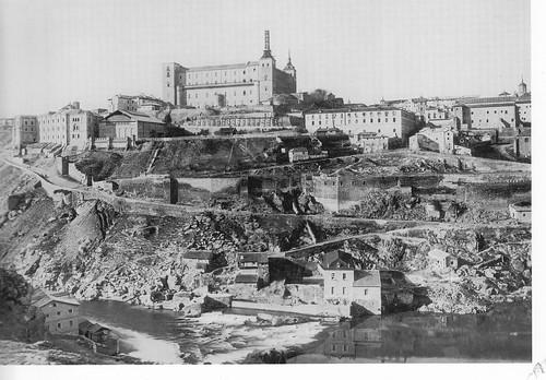 Turbinas de Vargas y Alcázar de Toledo hacia 1895