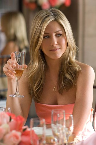 Jennifer Aniston in her movie release party