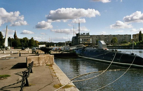 Калининград Submarine exhibit, Museum of the World Oceans, Kaliningrad ©  sludgegulper
