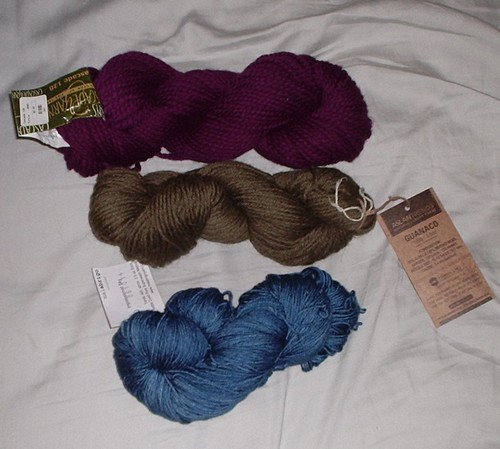 My purchases from The Knitting Nest