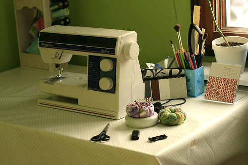 My sewing table