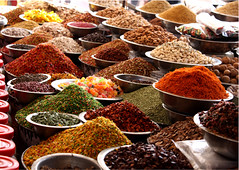 Spices from Gujarat (Sudhamshu) Tags: shop colours market spice nuts explore rows spices almonds bazaar arrangement gujarat ahmedabad jujubes fennelseeds mukhwas variyali mouthrefreshments