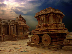 Vitthala Temple, Hampi (Sunil Shinde) Tags: unesco worldheritagesite temples karnataka ancientcivilization hampi vitthalatemple fbdgni itpcritique