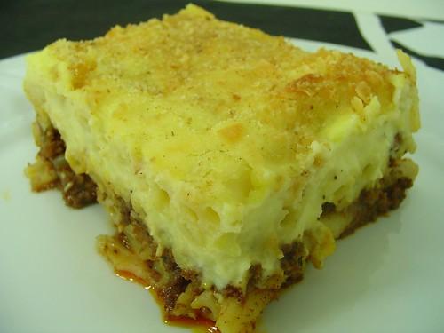 pasta pastitsio greek lasagna pastitsio greek lasagna pastitsio ...