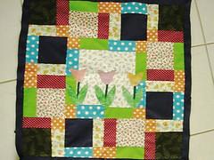 038 (super_ziper) Tags: flowers flores diy quilt sewing flor steps craft sew super bolinhas fabric patch dots patchwork tutorial pap maquina tecido ziper costura iniciantes passoapasso façavocêmesmo superziper divania