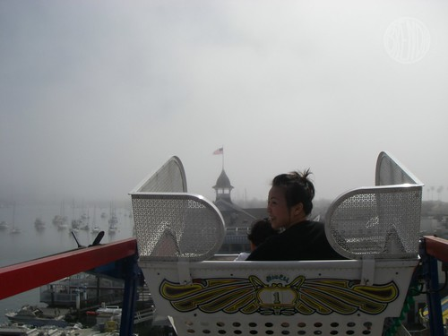 jbomb at the top of the ferris wheel
