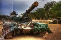 T72 Tank of The Indian Army