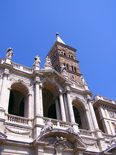 The Patriarchal Basilica of St. Mary Major by Deacon Steve.