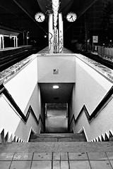 time to go (anna pozzi) Tags: bw canon milano bn stazione ferrovia binari canon287028l eos40d