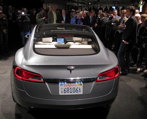 Tesla Sedan Party Video