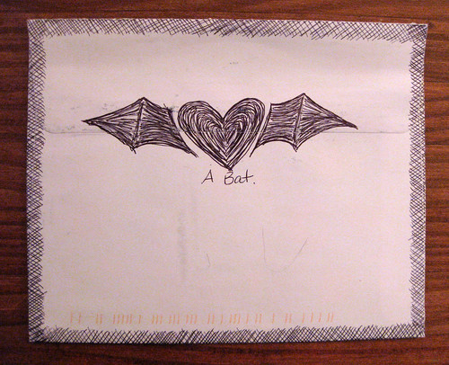 More hand-drawn bat loveliness