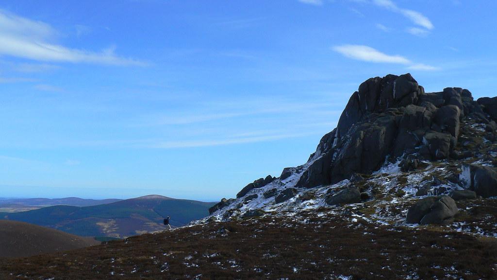 Summit of Clachnaben