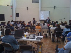 Randy Smith speaking in Mexico City