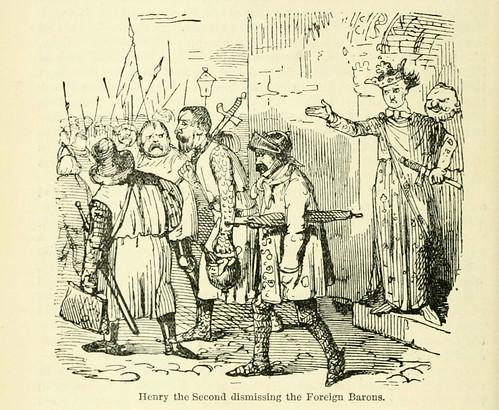 025-Henry II destituyendo a los barones de relaciones exteriores