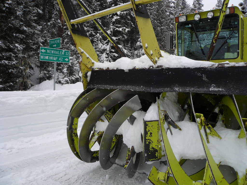Snowblower - SR 20, North Cascades Highway